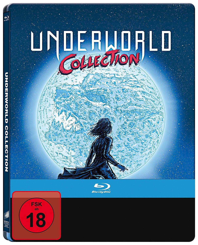 Underworld - Collection 1-5 Limited Steelbook Edition (Blu-ray) für 25€ (Amazon)