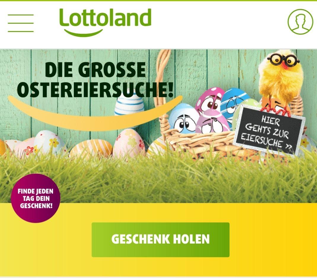 [Lottoland.com] Ostereiersuche, dadurch Rabatte und evtl.Freispiele möglich (Heute pro Euro Umsatz 1 Freispiel)