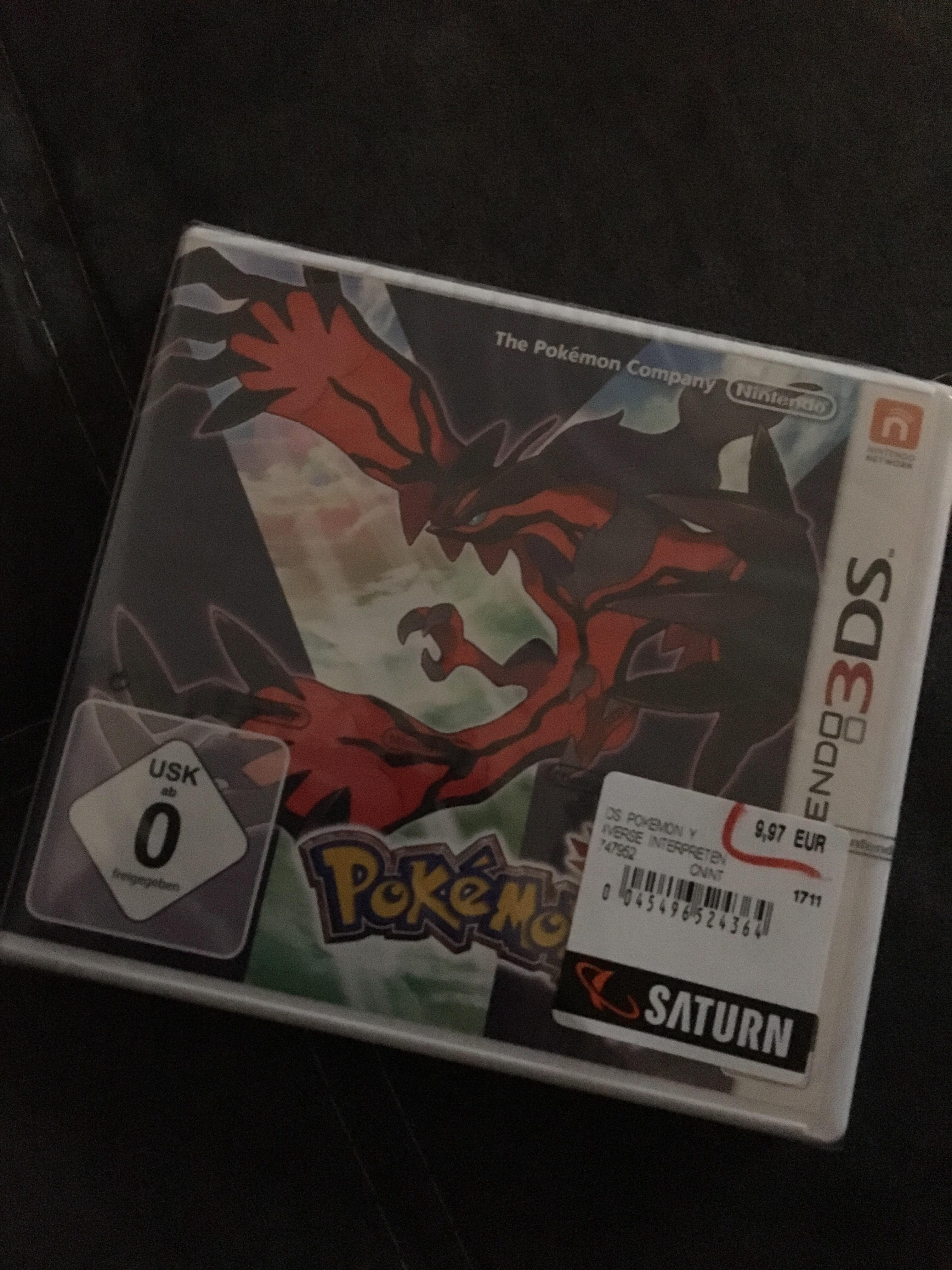 Pokémon Y für den Nintendo 3DS lokal Saturn Leverkusen