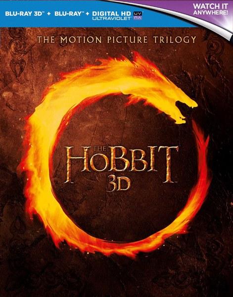 The Hobbit Trilogy 3D Blu-ray (+2D+UV Code) OT [zavvi.de]