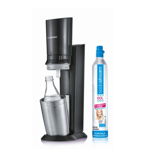 Sodastream Crystal 2.0 Wassersprudler bei Masterpass-Zahlung - Woche der Champions bei Saturn