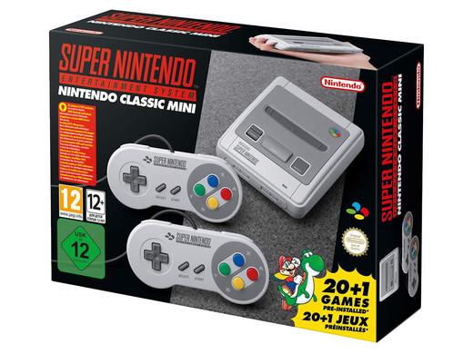 Super Nintendo Classic Mini für 75,90 incl. Versandkosten - nur heute