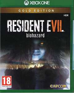 Resident Evil 7 : Biohazard Gold Edition (Xbox One/PC Digital Play Anywhere) für 21,20€ (MS Store Türkisch)
