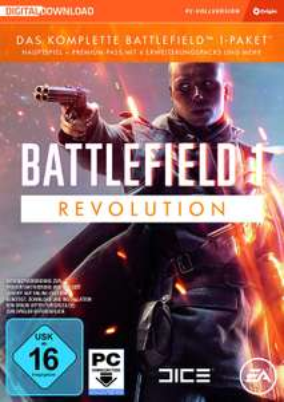 Battlefield 1 - Revolution (mit Premium Pass) (PC) für 19,99€ [Amazon]