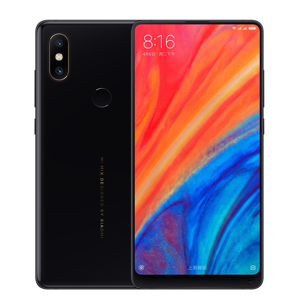 [Vorbestellung] Xiaomi Mi Mix 2S 5.99 Inch 4G LTE Smartphone Qualcomm Snapdragon 845 Octa Core 6GB 64GB 12.0MP Dual Rear Cameras MIUI 9 Type-C Ceramic Body - Black