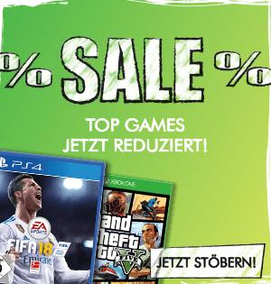 Gamestop Oster-Deals z.B. 2 für 25 auf ausgewählte Spiele, Sea of Thieves gratis bei Kauf einer Xbox One X