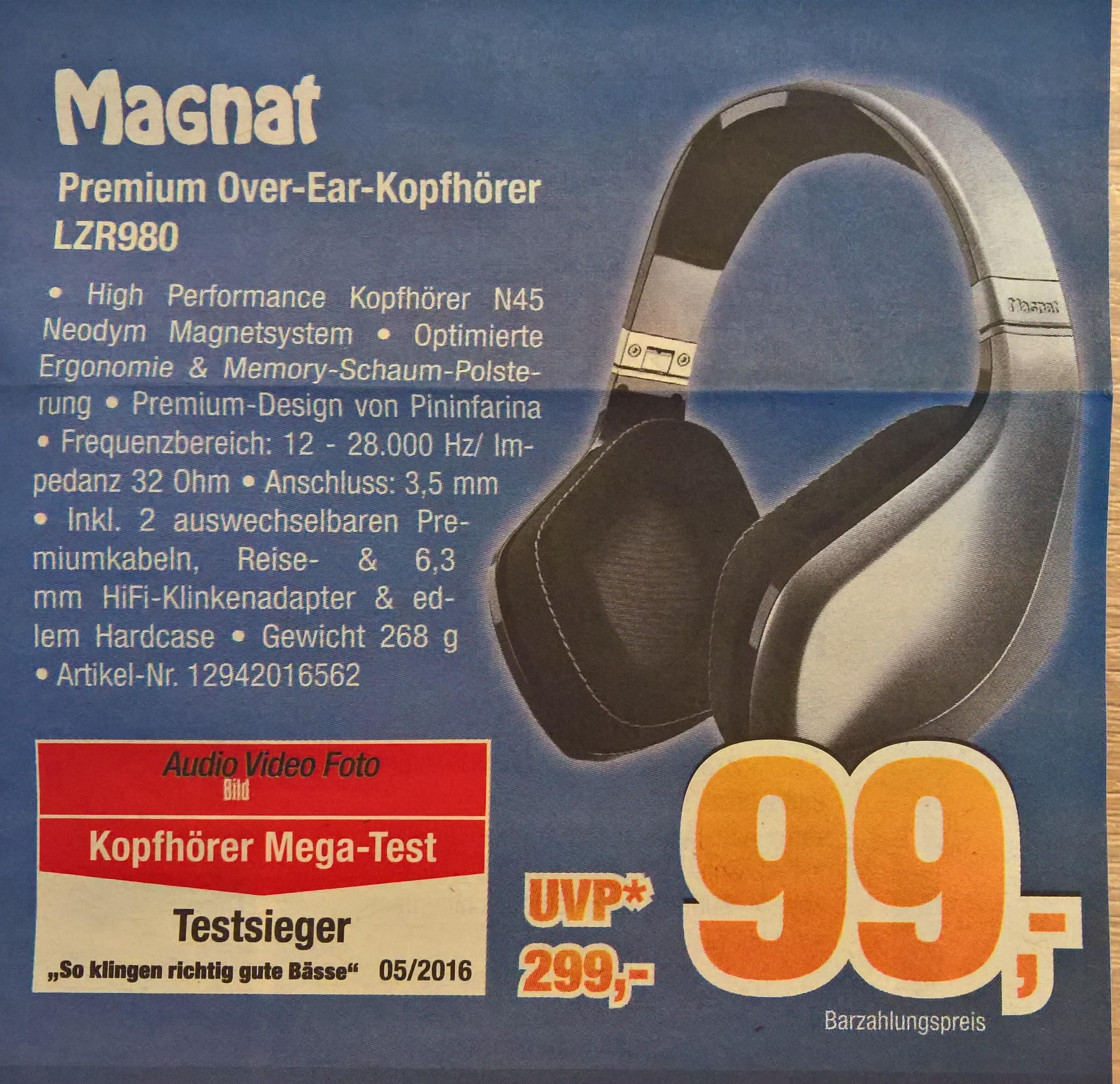 Magnat LZR980 Over Ear (LOKAL Expert Bening)