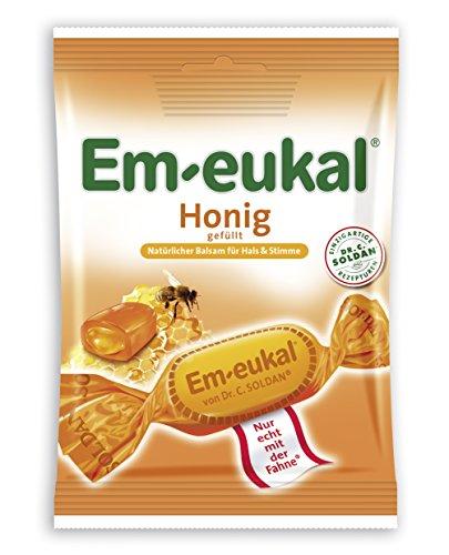 (Vorbestellbar) Em-Eukal Honig-Bonbons, 20er Pack (20 x 75 g Beutel)