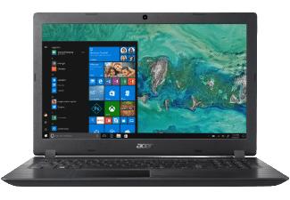 ACER Aspire 3 (A315-51-39US), Notebook mit 15.6 Zoll Display, Core™ i3 Prozessor, 8 GB RAM, 1 TB HDD, HD Grafik 520, Schwarz + Office 365 Personal gratis [Mediamarkt]