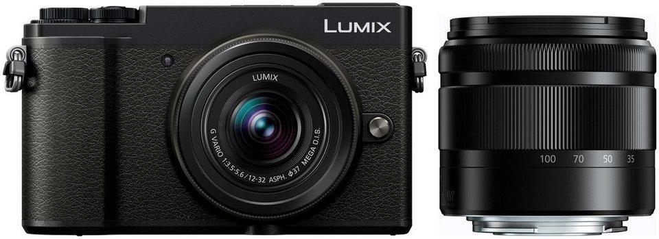 Panasonic Lumix GX9 Systemkamera ( Telezoom 35-100mm, Lumix G Vario 12-32mm)
