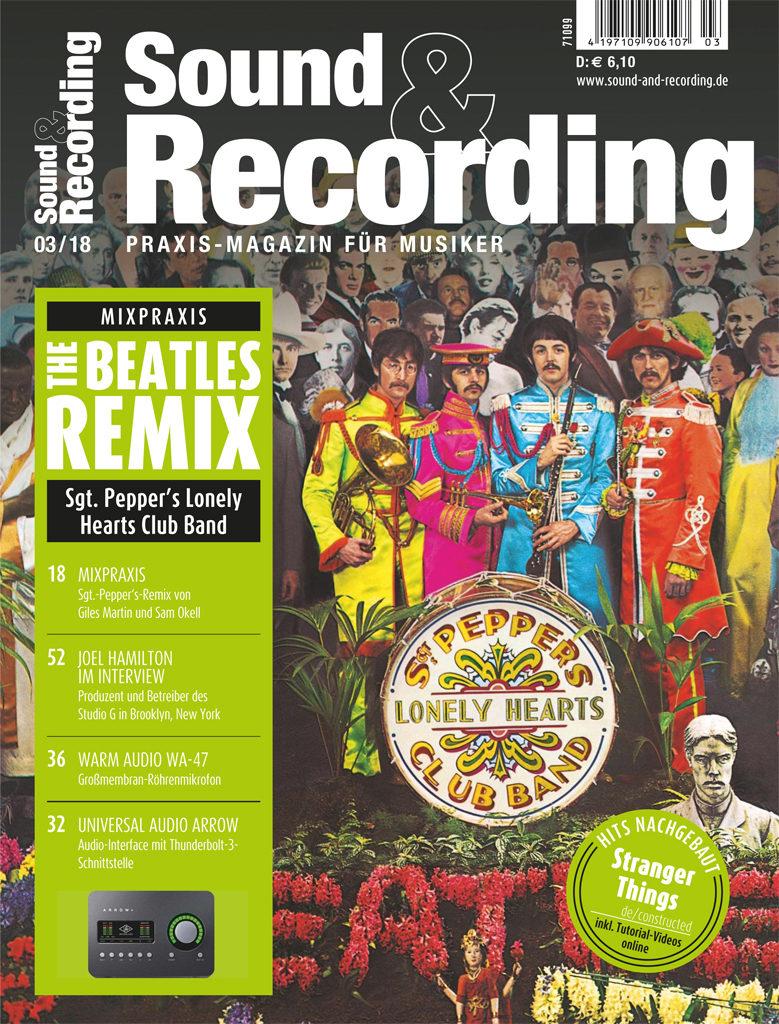 Musiklektüre: Sound&Recording, Keyboards, Gitarre&Bass 3 Ausgaben MiniAbo 75% günstiger - kündigen nicht vergessen!
