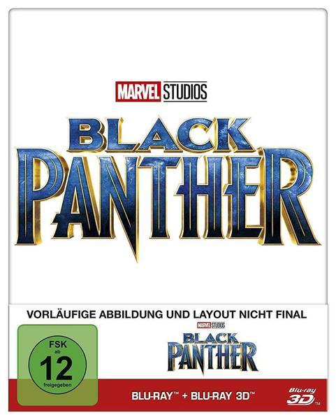 [Thalia] Black Panther (Limitiertes Steelbook) - (3D Blu-ray (+2D)) für 23,99€ (Neukunden)