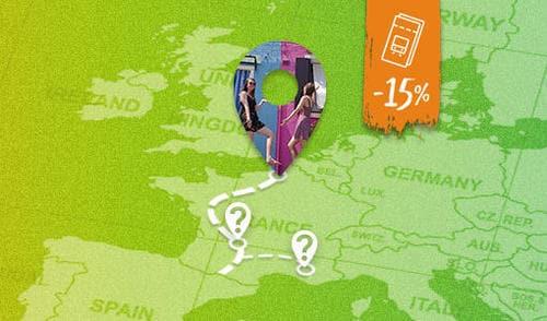 Interrail  15% Rabatt + 15€ Gutscheincode: IR_PROMO18