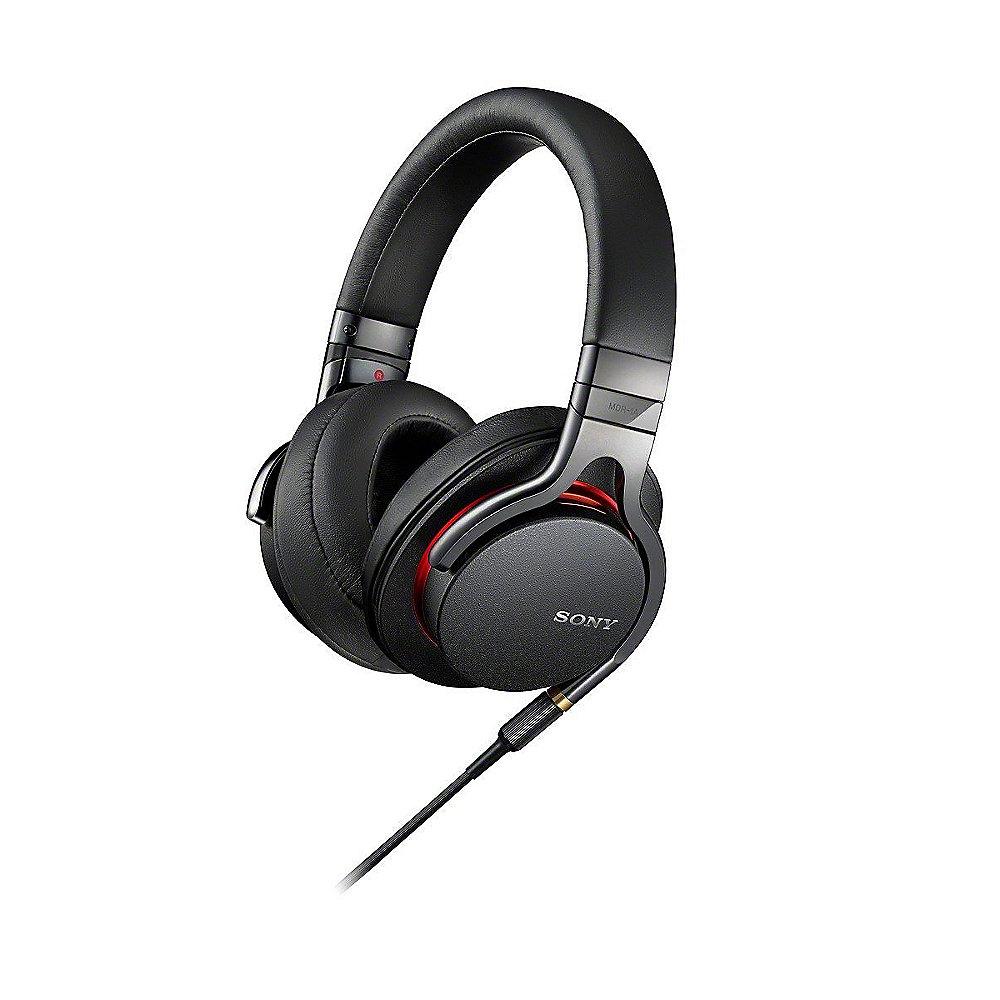Sony MDR-1A  -  High Resolution Kopfhörer (40 mm High Definition-Treibereinheiten) schwarz für 99€ (Offline) & 102€ (Online)
