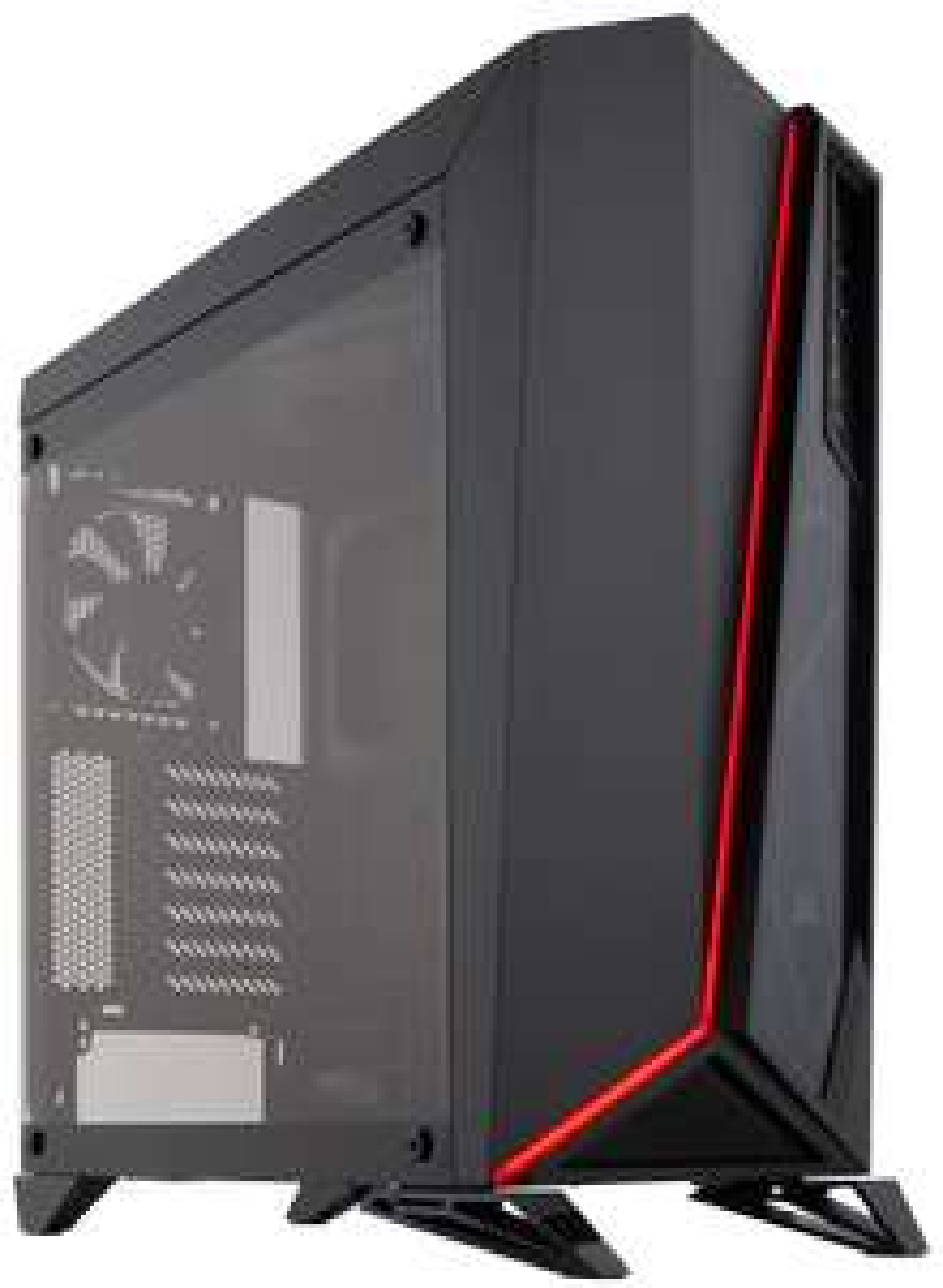 Corsair SPEC-Omega Tower Gehäuse [Farbvariationen: schwarz - schwarz/weiss - schwarz/rot] - (Mit 5€ NL-Gutschein 82,89 Euro)