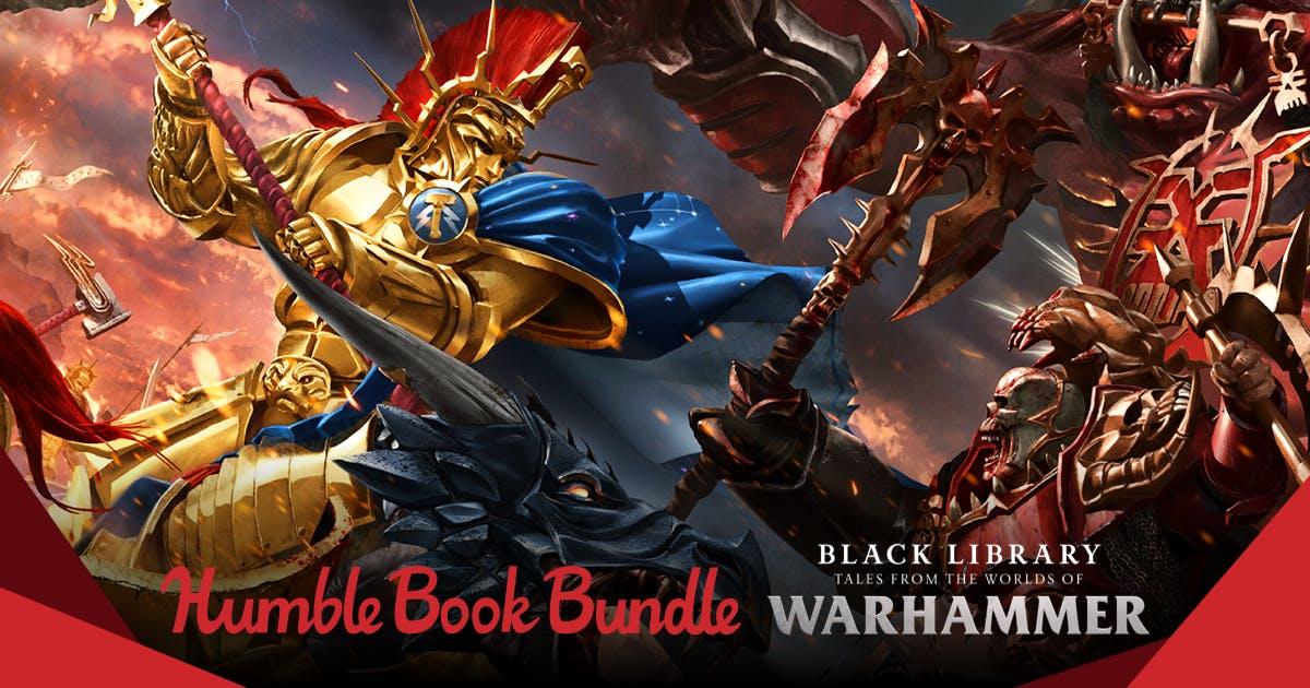 [Humble Bundle] Warhammer 40K und Warhammer Fantasy Romane-Bundles ab 0,81€