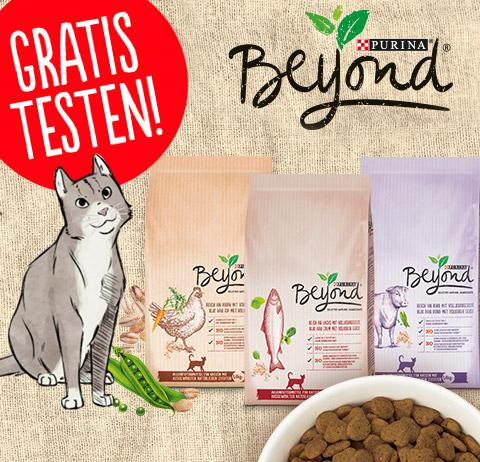Purina BEYOND KATZE Katzenfutter Gratis Testen - VERLÄNGERT