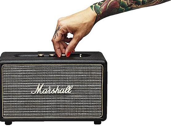 Marshall Acton Bluetooth Lautsprecher schwarz für 117,15€ oder Kilburn für 149,15€ [Clas Ohlson]