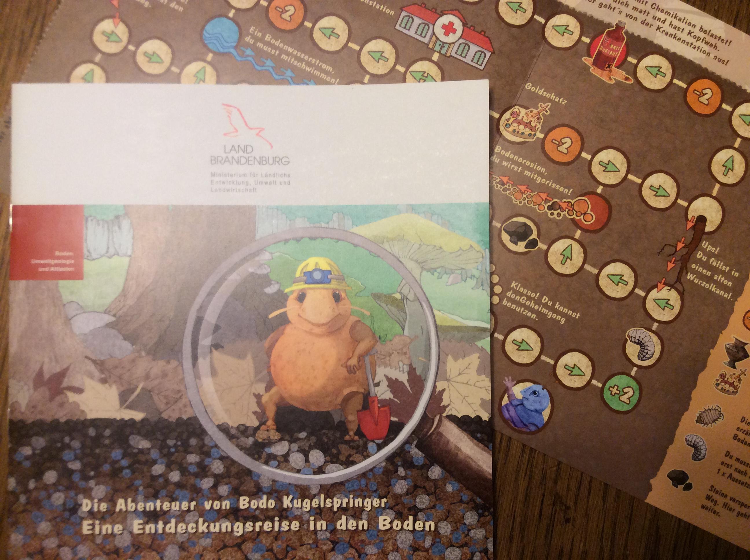 Die Abenteuer von Bodo Kugelspringer (Broschüre vom mlul)