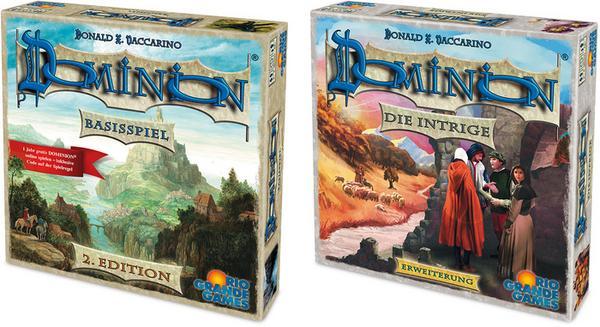 Dominion Basisspiel 2. Edition und Intrige / Bundle [Thalia / evtl. Neukunden] Brettspiel Kartenspiel