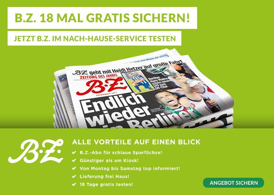 BZ 18x Gratis Lesen - Lieferung frei Haus