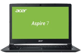 ACER Aspire 7 (A715-71-72J1) Laptop15.6 Zoll Display, Core™ i7 Prozessor, 8 GB RAM, 128 GB SSD, 1 TB HDD, GeForce GTX 1050 Ti