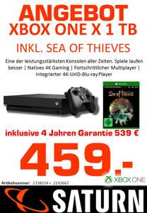 LOKAL SATURN STACHUS MÜNCHEN - XBOX ONE X + SEA OF THIEVES