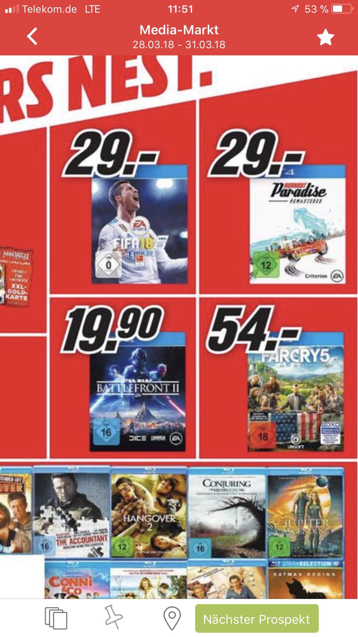 (Lokal? Elmshorn/Hamburg) Star Wars Battlefront 2 für 19,90€