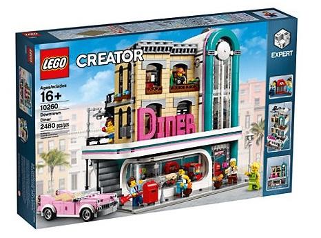 LEGO American Diner 10260 am 7.4. für 109,99 Euro im Angebot