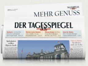 36x Tagesspiegel - 3 Monate gratis am Wochenende (Fr.-So.) lesen