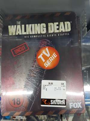 The Walking Dead Staffel 7 blu-ray steelbook Saturn Braunschweig lokal