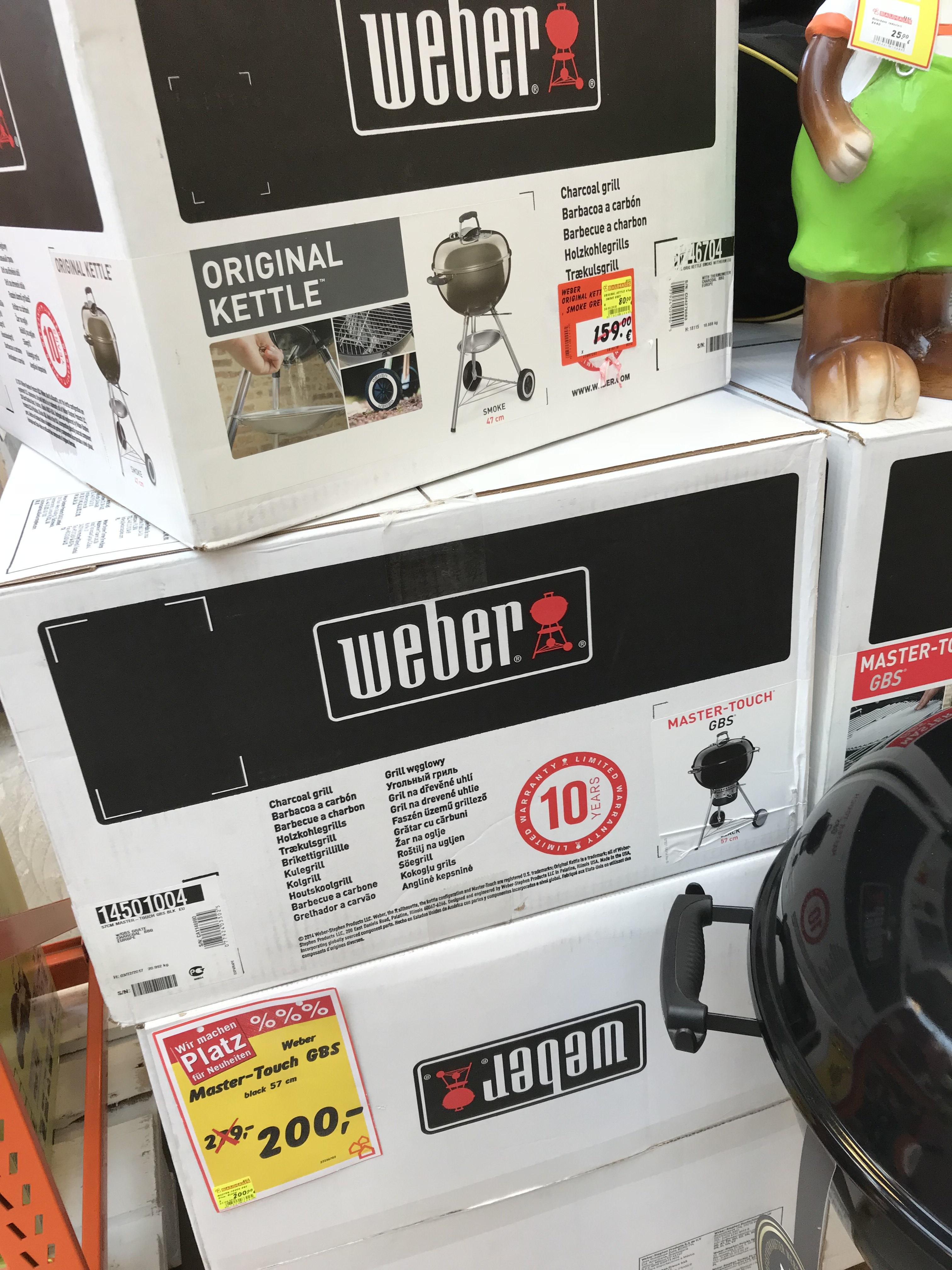 Weber Master-Touch GBS 57cm Lokal Köln
