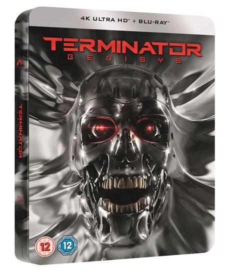 Terminator Genisys (4K Ultra HD + Blu-ray) (Futurepak Steelbook) für 20,53€ (Zoom)