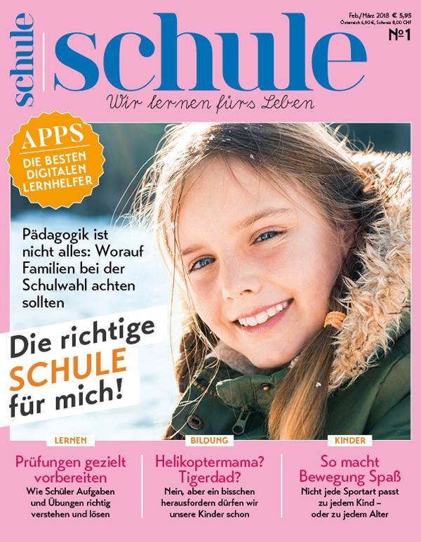 Jahresabo direkt rabattiert: 6 Ausgaben des Magazins Schule für 9,90€