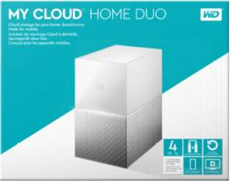 WD My Cloud™ Home Duo 4 TB 3.5 Zoll extern Versankostenfrei