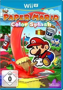 Paper Mario: Color Splash (Wii U) & Kirby und der Regenbogen-Pinsel (Wii U) für je 17€ versandkostenfrei (Media Markt & Amazon Prime)