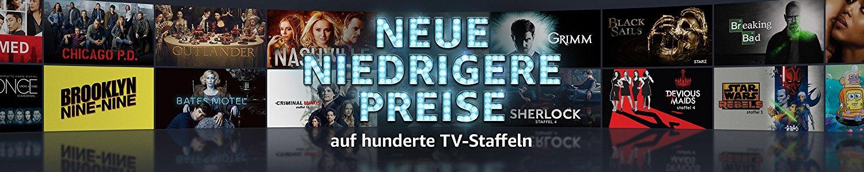 Amazon Prime Video: Hunderte TV Staffeln zum Kaufen reduziert (Beispiel Sherlock Staffel 4 für 4,99Euro)