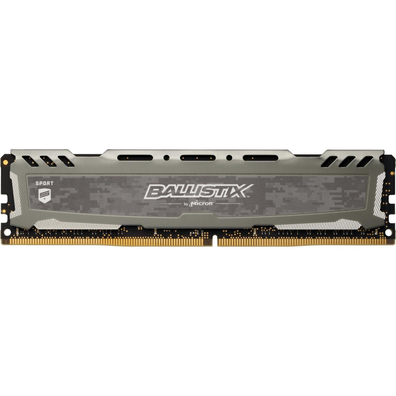 [Nbb] 15% auf ausgewählten Ballistix Arbeitsspeicher, z.B. 8GB Ballistix Sport LT DDR4-2400 CL16 DIMM 288pin Intel XMP 2.0 Grau