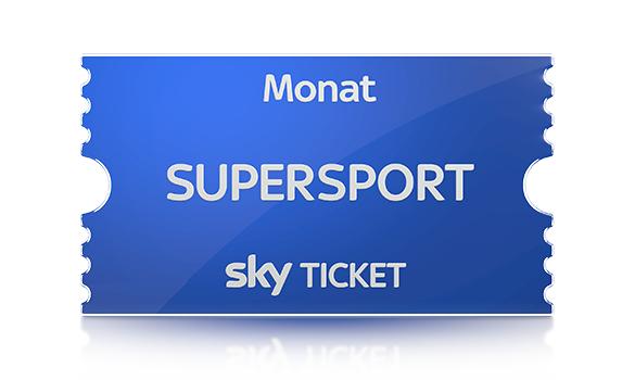 [SkyTicket SuperSport] Oster-Special: Nur jetzt 1 Tag zahlen, 1 Monat live streamen