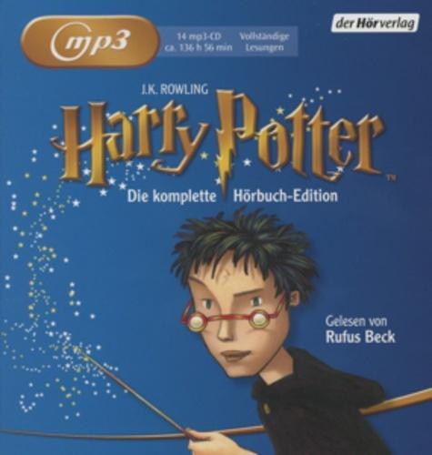 [Thalia] Harry Potter Hörbücher Gesamtausgabe CDs Rufus Beck