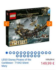 LEGO Disney Pirates of the Caribbean - 71042 Silent Mary