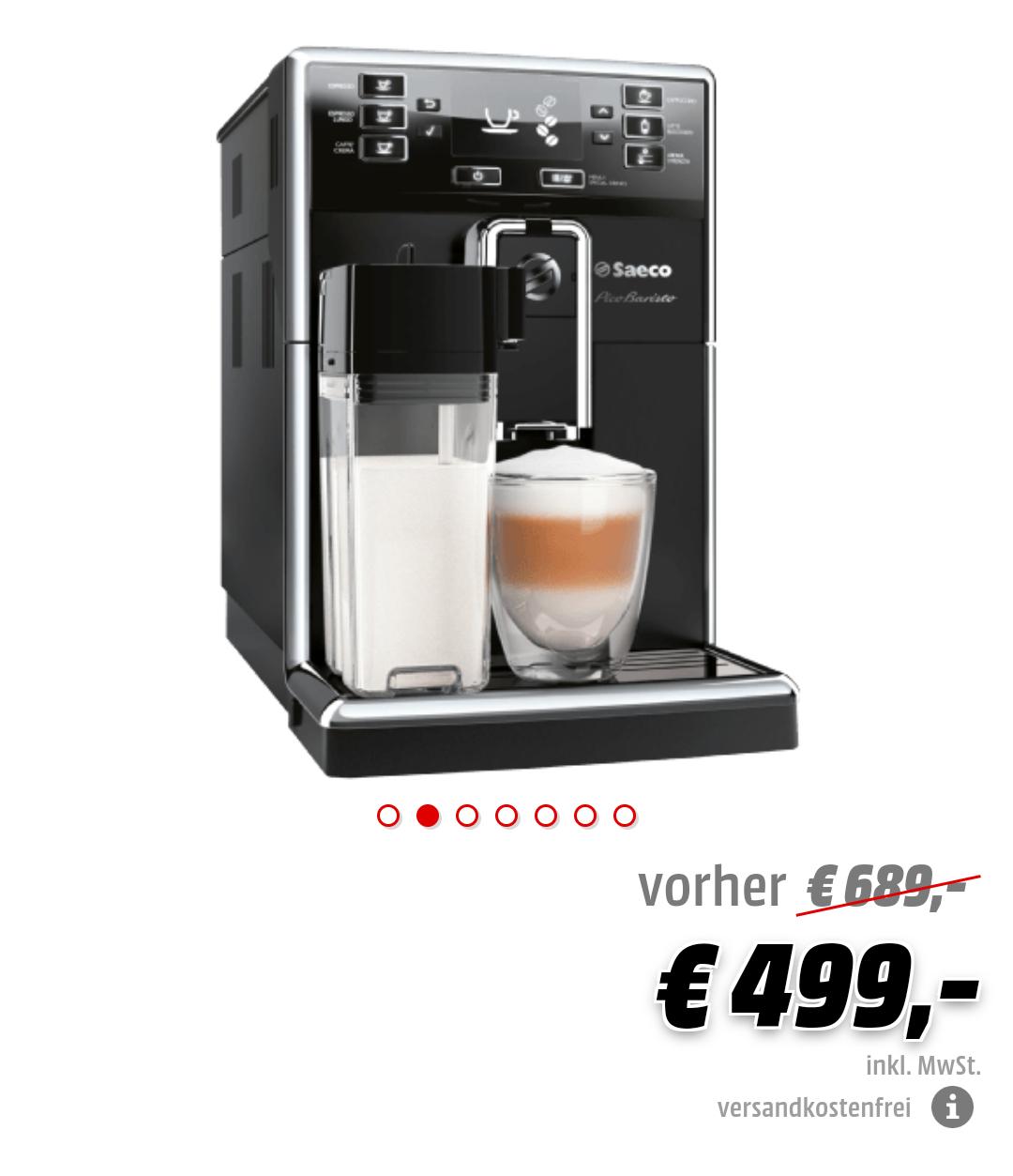 SAECO HD8925/01 Pico Baristo Kaffeevollautomat Schwarz