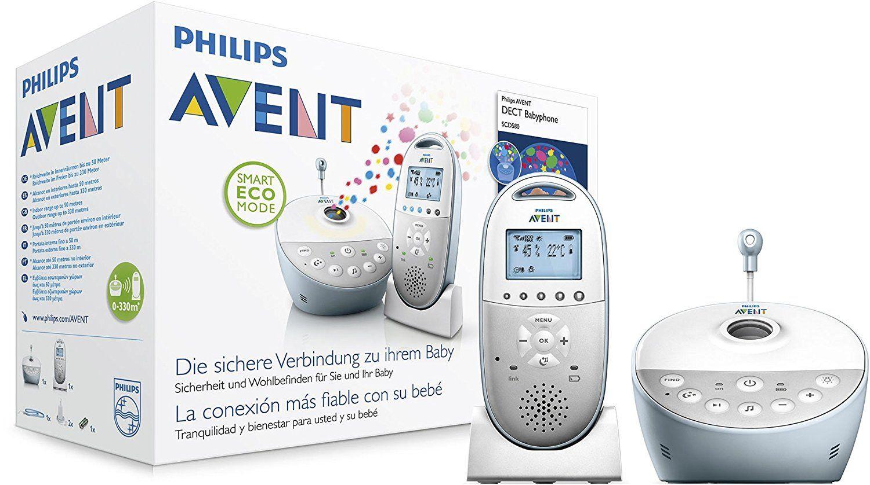[Amazon Tagesangebot] Philips Avent SCD580/00 Babyphone mit Sternenhimmel Projektion
