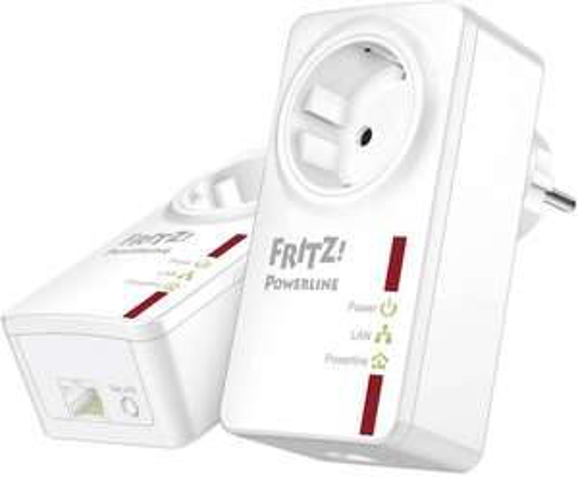 AVM FRITZ!Powerline 530E Set (500 Mbits) für 57,79€ [voelkner]