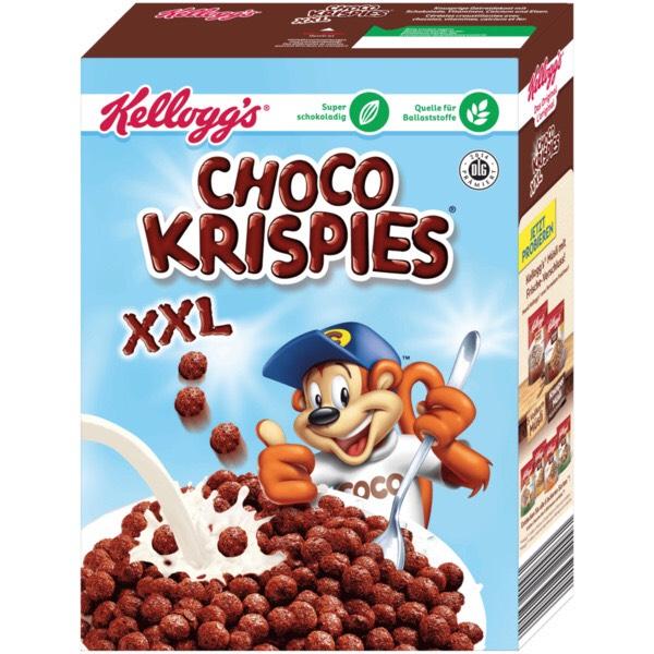 Kellogg's Choco Krispies xxl (oder andere Sorte) 5 Packungen (Amazon Prime)