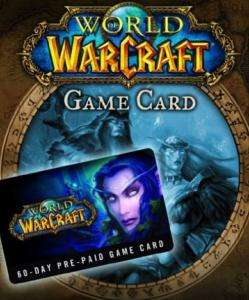 World of Warcraft 60 Tage Gamecard (PC/Mac) für 18,52€ (CDKeys)