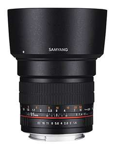 Samyang 85mm f1.4 ASP IF Sony E-Mount für 213,42​€ [Amazon.es]