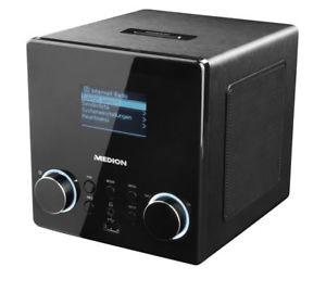 [ebay Medion] MEDION LIFE P85044 MD 87180 Internetradio mit DAB+, WLAN, USB Steckplatz, AUX, Wecker, Steuerung per App, digital, schwarz