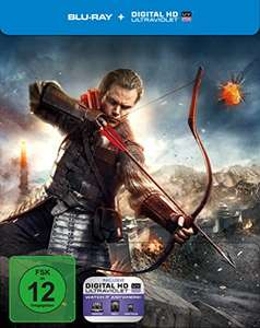 The Great Wall Limited Steelbook (Blu-ray + UV Copy) für 9,59€ (Amazon Prime) *UPDATE*