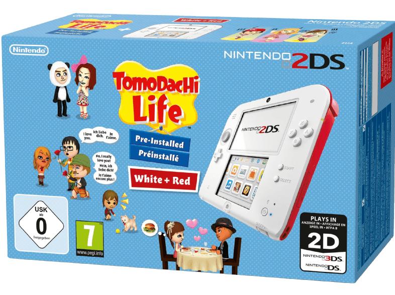 Nintendo 2DS inkl. Tomodachi Life für 55€ inkl. Versand nach DE [Saturn.at]